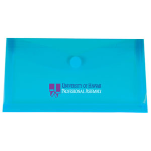 #10 Mini Touch Closure Envelope with Gusset