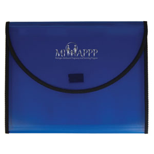 Conference Pad Holder with 5 Pocket File