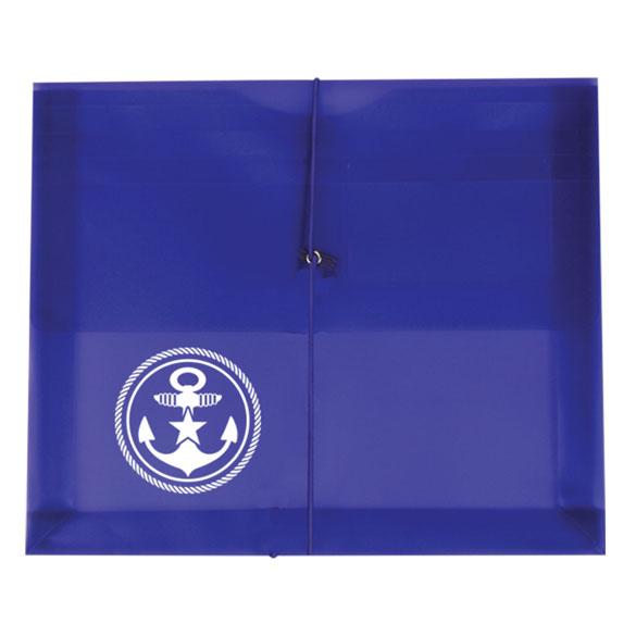 "205 - Side Open Envelope with 2"" Gusset & Business Card Holder"