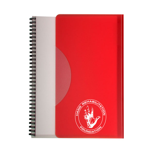 351 - Tuck In Spiral Notebook Large