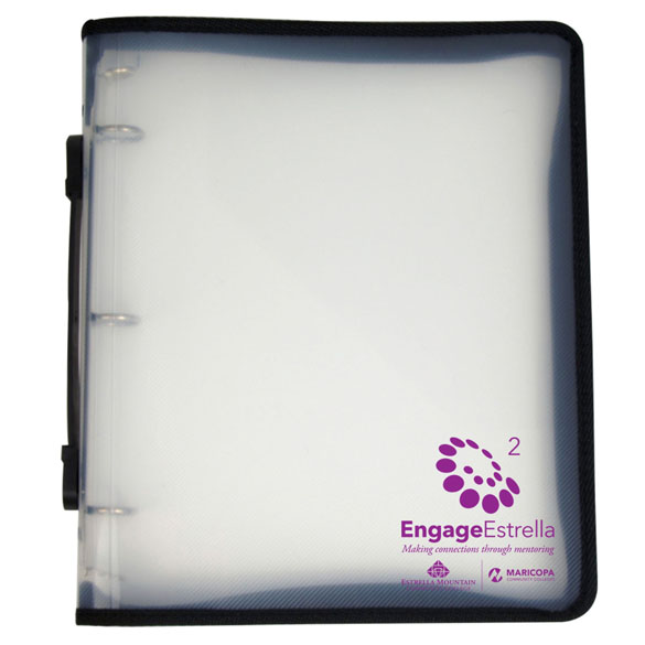 532 - Zip Binder with Handle