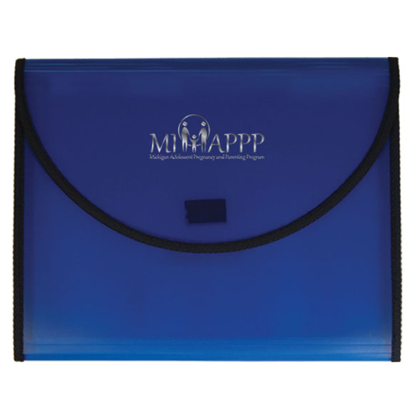700 - Conference Pad Holder with 5 Pocket File