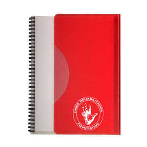 Tuck In Spiral Notebook Large